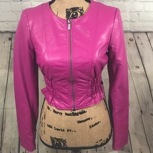 Bebe Leather Jacket